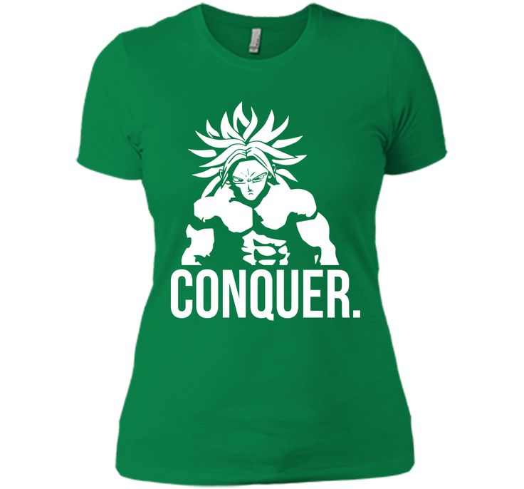 CONQUER - Broly As Mr. Olympia T-Shirt