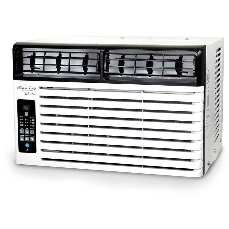 Soleus SoleusAir White Energy Star Window-mounted Remote Control Air Conditioner