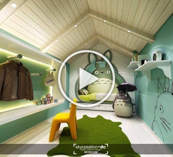 Totoro Bedroom in 2020 | Entryway decor, Home diy, Diy ...
