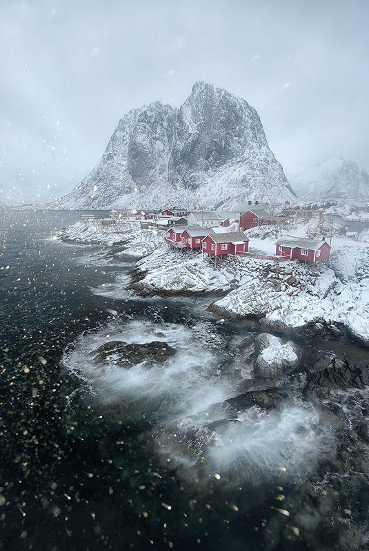 Lofoten islands, Norway.                                                                                                                                                                                 More