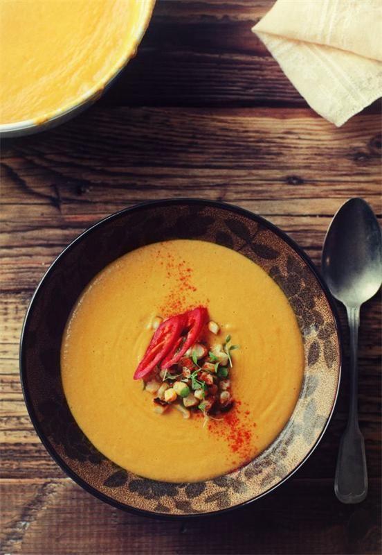 Супы с кукурузой