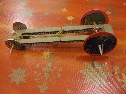 Rubber Band Car