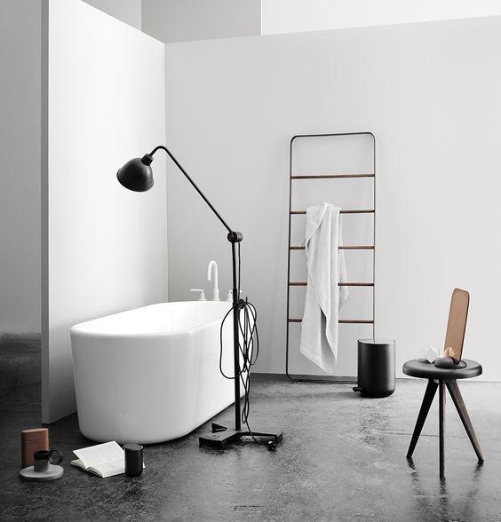 Ванны с вешалкой, напольная вешалка в ванной, вешалка для ванны, вешалка лестница ,Вешалка напольная, напольная вешалка , черная вешалка , Menu , Towel ledder