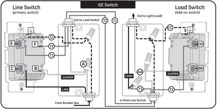 New Ge Dimmer Switch Wiring Diagram (con imágenes