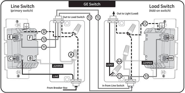 new ge dimmer switch wiring diagram  con im u00e1genes