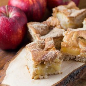 Apple are an easy transitional fruit to bring you into thinking of fall. Easy Apple Cinnamon Pie Bars give you the comfort of a fall dessert.
