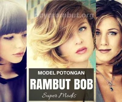 Model rambut bob terbaru 2016