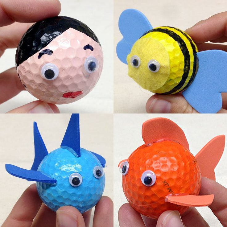 Father's Day Golf Ball Upcycling! - CleverPatch