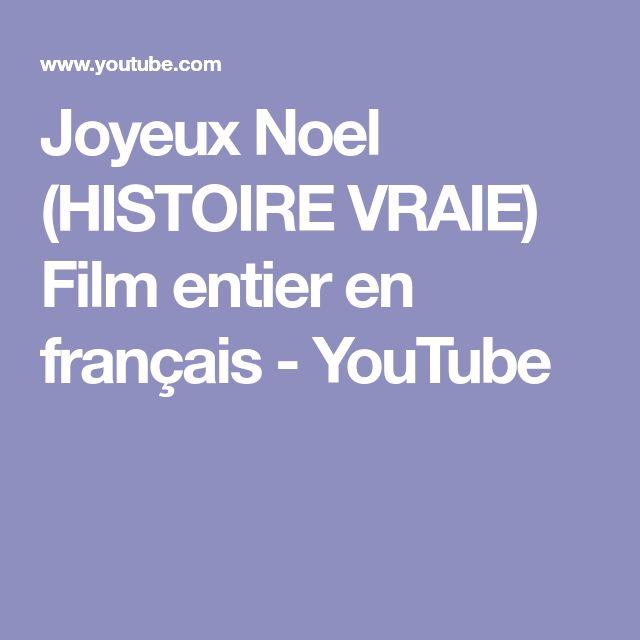 Joyeux Noel (HISTOIRE VRAIE) Film entier en français - YouTube