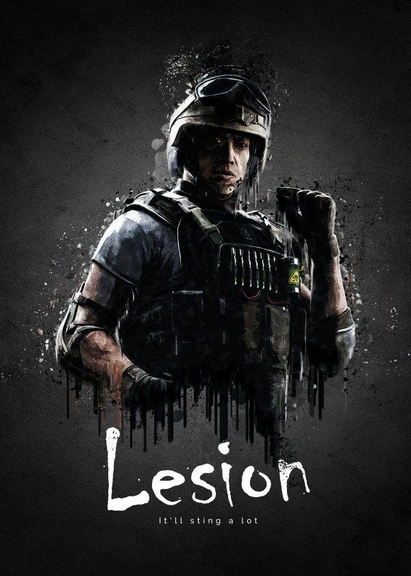 Operator Lesion From Rainbow Six Siege Operator Lesion From