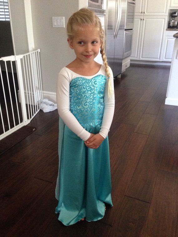 Elsa dress by DapperNDainty on Etsy, $70.00