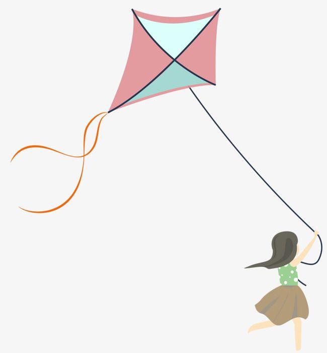 Kite Flying Child Kite Flying