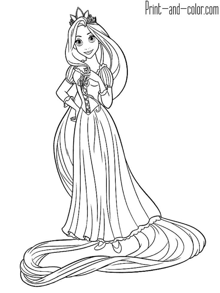 Grab your New Coloring Pages Rapunzel Download  s
