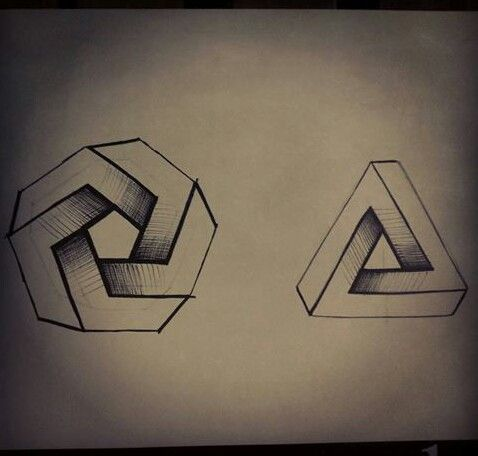 Disegni geometrici a mano libera di chiara paduano