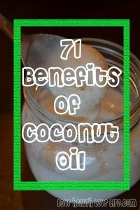 71 Coconut Oil Benefits: My Experiments with Coconut Oil. Since we're both obsessed with it...