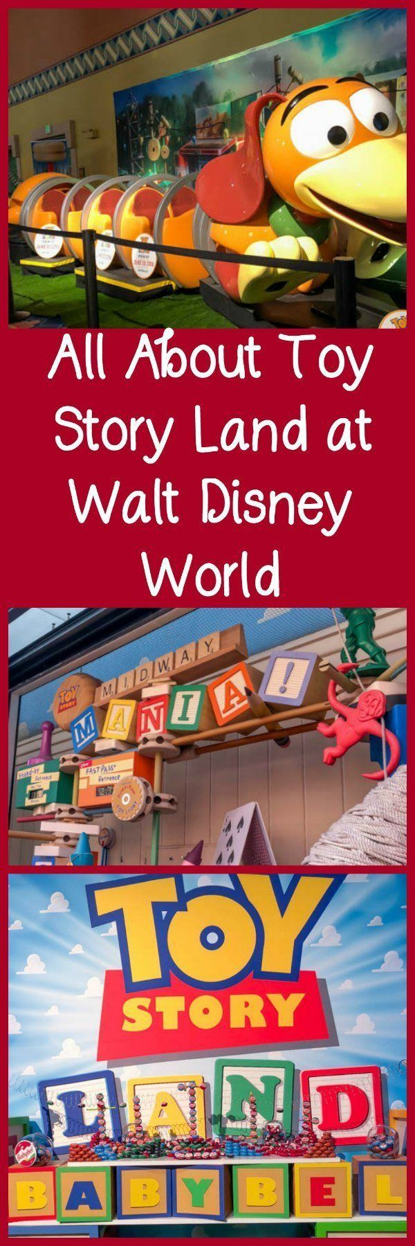 All About Toy Story Land at Walt Disney World including attractions, food, and opening date. #disneypartner #disneyworld #toystoryland