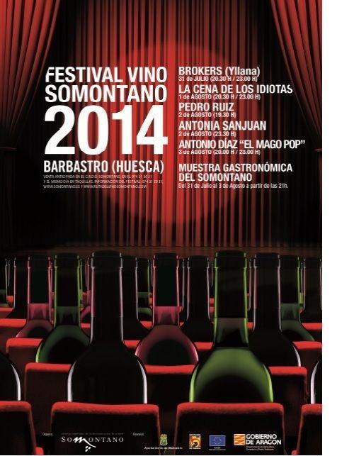 F (#FestivalVinoSomontano): En 2014 nuestros   Obergo Caramelos se agotó el sábado a media noche. ¡Esperamos ansiosos la próxima edición!