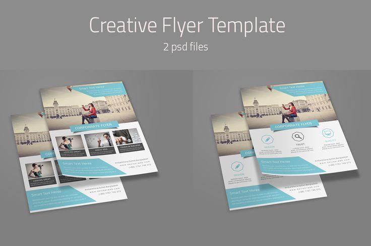Creative Flyer Templates by DeviserWeb on Creative Market