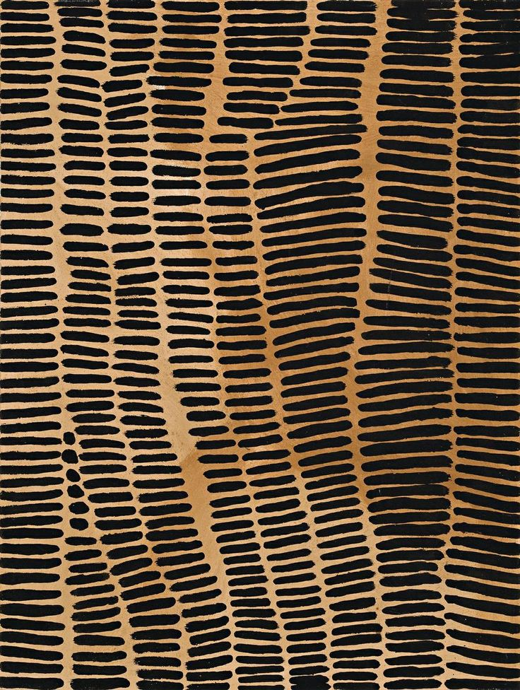 Lena Nyadbi, Jimbala Country (2001), natural earth pigments and synthetic binder on canvas #Indigenous #Australian #Aboriginal #Art