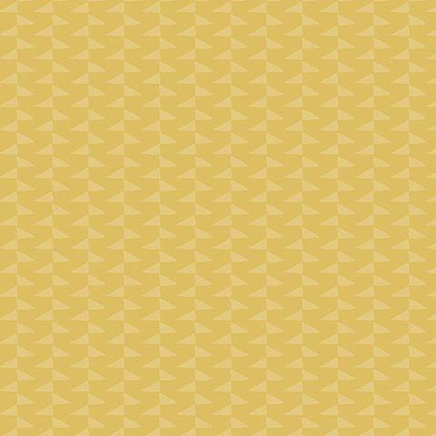 Scandinavische zigzag okergeel