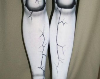 ball joint tights. broken doll ball joint tights custom made for you