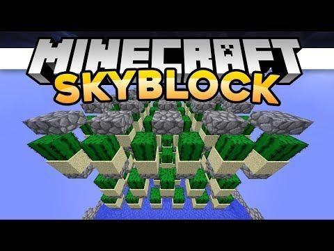 SkyBlock LETS GET FARMING Minecraft Minecraft Servers - Minecraft skyblock spielen