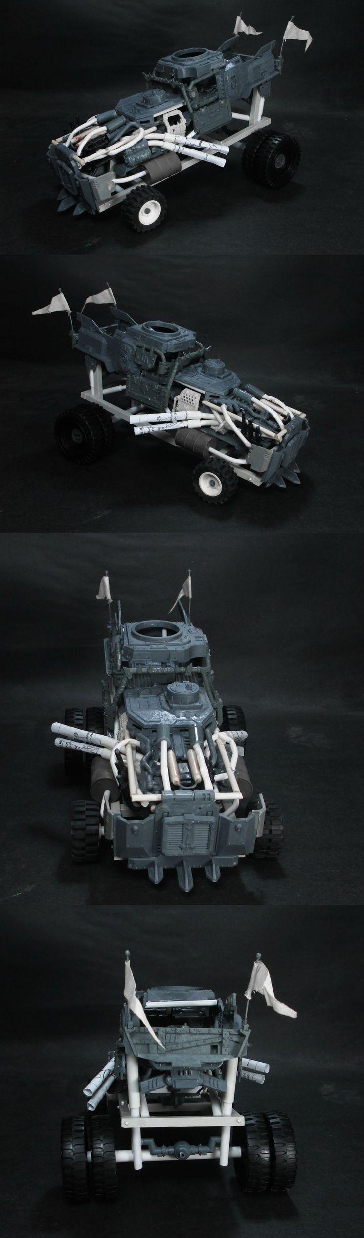 Mis Valientes Guerreros: Mad Max Fury Road aterriza en los tableros!