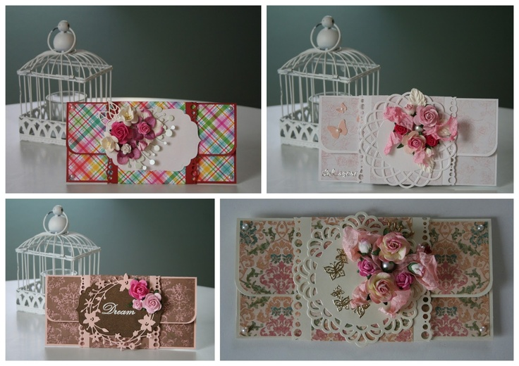 Envelopes or tri-fold cards - more featured in blog - left column - year 2012