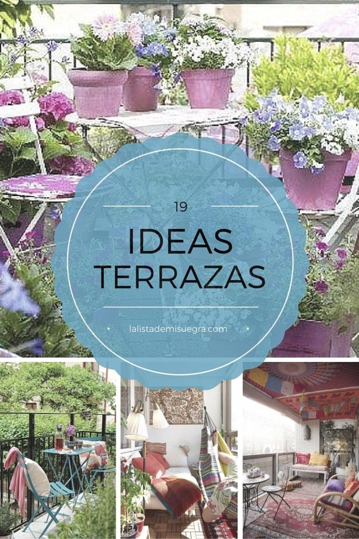 19 best images about ideas para terrazas on pinterest - Ideas decorar terraza ...