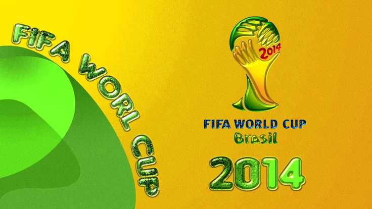 Fifa World Cup 2014 Logo HD Wallpaper