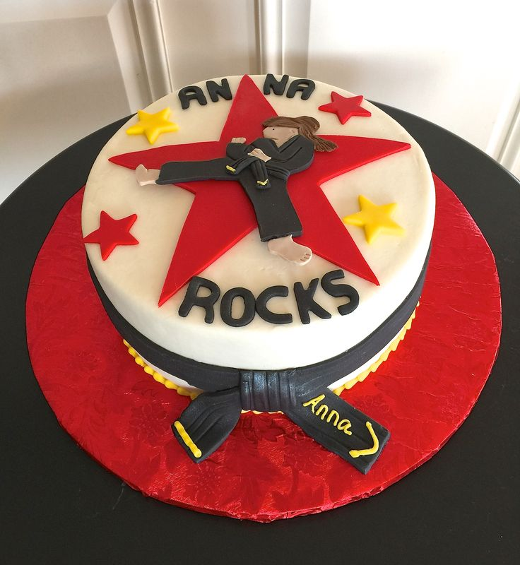 Martial Art Cake Ideas : 52 best images about Birthday Cakes on Pinterest Karate ...