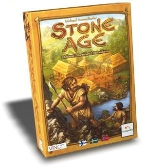 Stone Age board game. Worker placement/ resource management game. Fun game, good replay. A little tough on teaching to new players. Would like to own