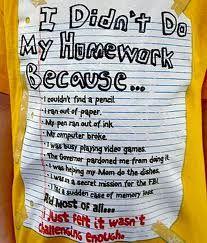 Homework is helpful because