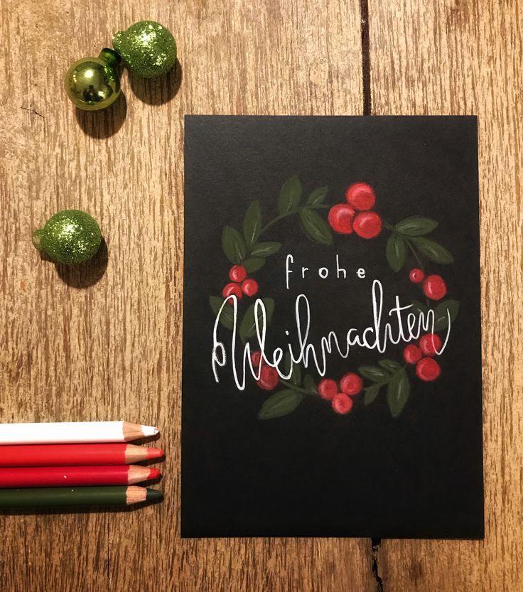 weihnachtskarten basteln weihnachtskarte xmascard. Black Bedroom Furniture Sets. Home Design Ideas