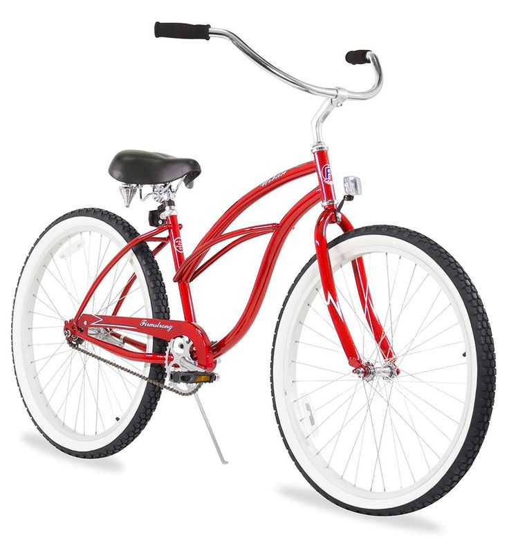 A beach cruiser bicycle is a throwback to the pushbikes seen around California in the 1950's (and earlier). Read more about them in this article.