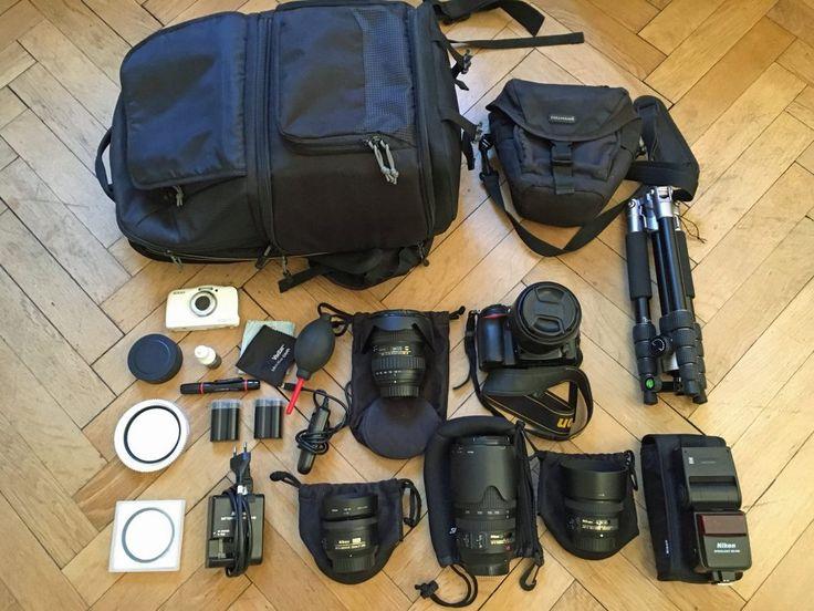 In diesem Artikel stelle ich meine Fotoausrüstung auf Reisen vor und gebe Tipps für die richtige Kameraausrüstung auf Reisen. Kameras, Objektive, Filter.