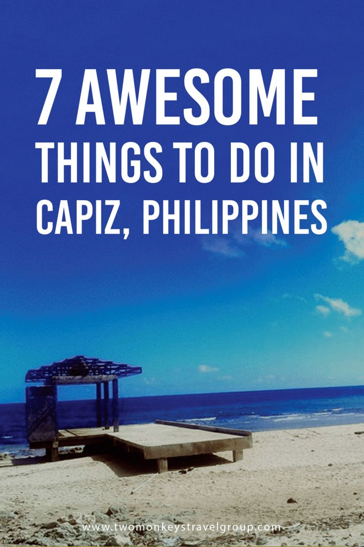 7 Awesome Things To Do in Capiz, Philippines Capiz, along with Iloilo, Antique, and Aklan are part of the Panay Island in Visayas, Philippines. Roxas City, among the 24 municipalities, serves as the capital of Capiz, where the airport is located. Flights from Manila are still limited from two to three every day. Better buy your ticket now and experience the things you will read on this article, as you visit a first-class province, Capiz.