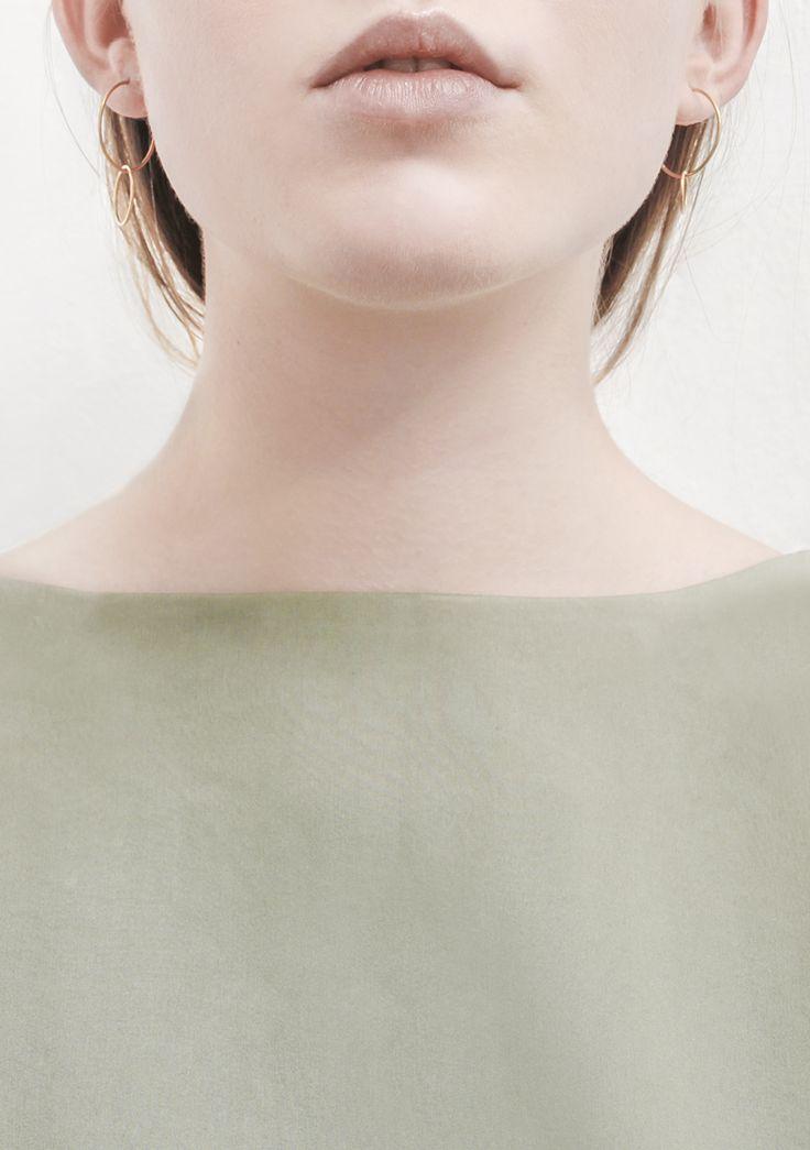 rett frem | earrings saburi