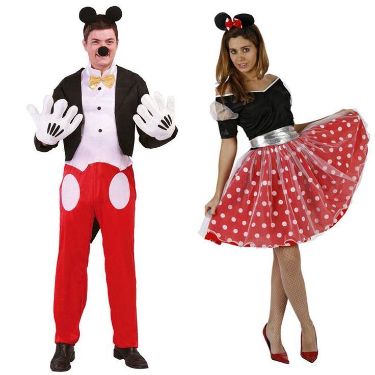 Costumes pour couples Souris #déguisementscouples