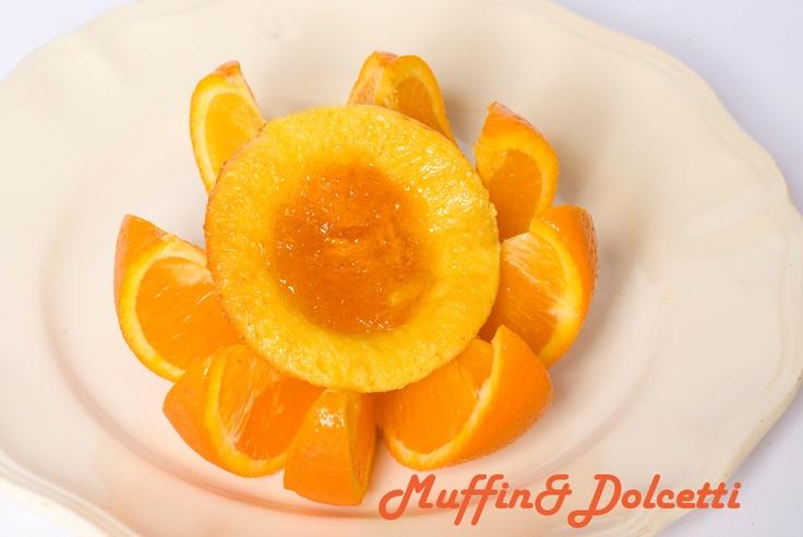 Cupcake all'Arancia! Per la videoricetta clicca qui: http://youtu.be/aqQhLz8Hdtk    Cupcake with Orange! For the recipe click: http://youtu.be/aqQhLz8Hdtk