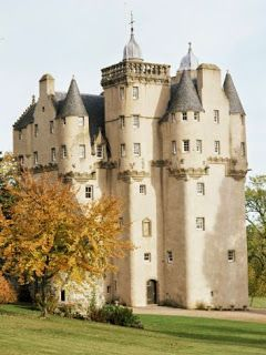 Craigievar Castle,  Haunted Scottish Castles and Stately Homes                                                                                                                                                                                 More