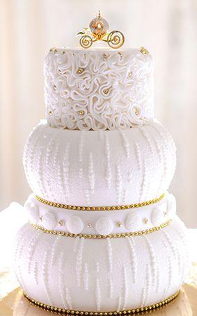 Wedding Cake Wednesday: Cinderella's Golden CarriageEver After Blog | Disney Fairy Tale Weddings and Honeymoon