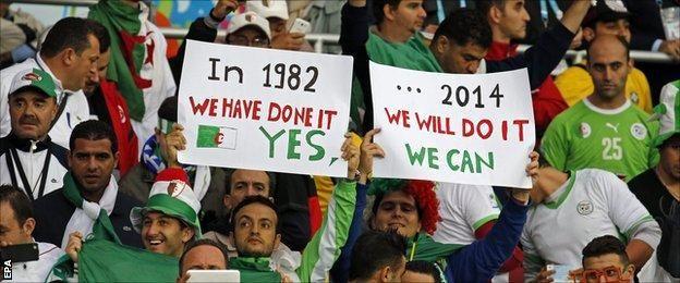 Algerie-Allemagne (WM 2014 au Brésil)