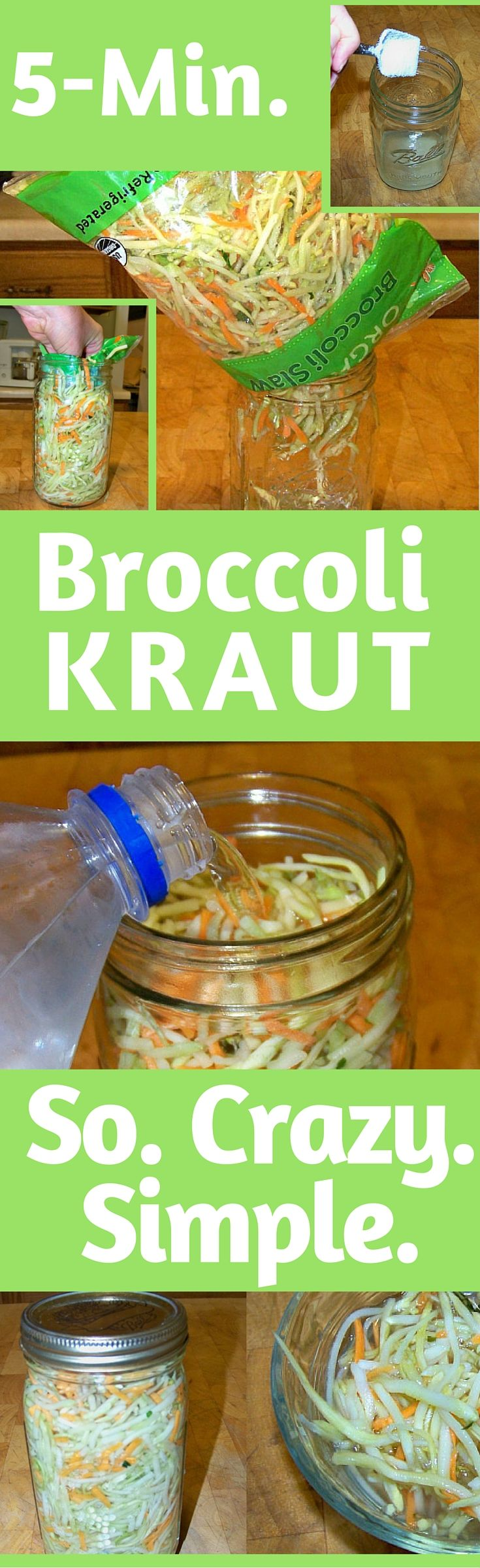 Fermented foods help heal the digestive track by providing natural, healthy probiotics. God has designed food to be our source of nourishment. Supplements will never substitute good old-fashioned wholesome food designed by God. This recipe makes it so easy to get started fermenting vegetables.