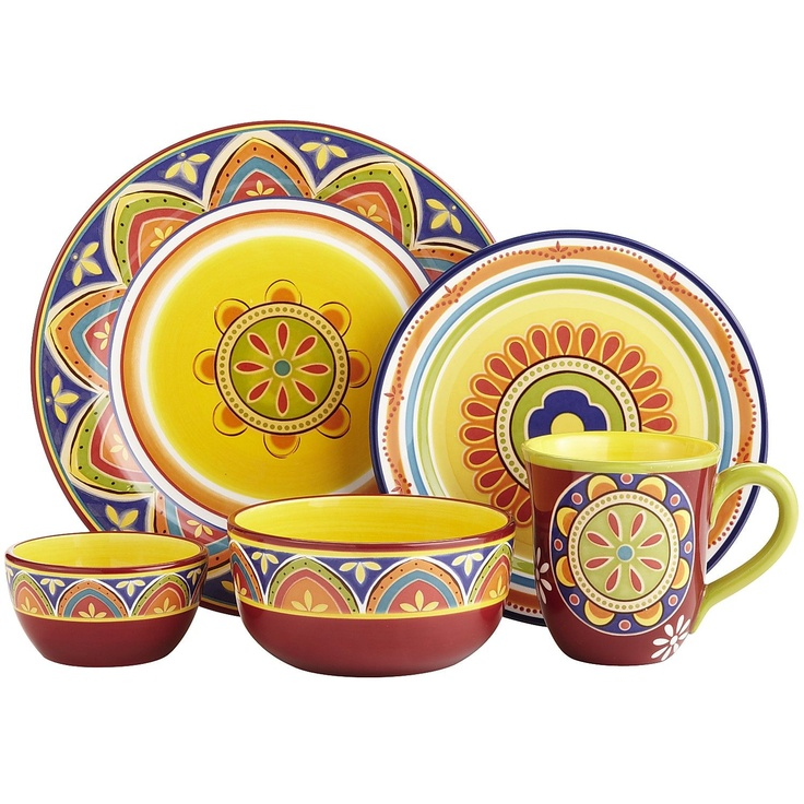 Mexicali Dinnerware My Sanctuary Retro Kitchen Decor