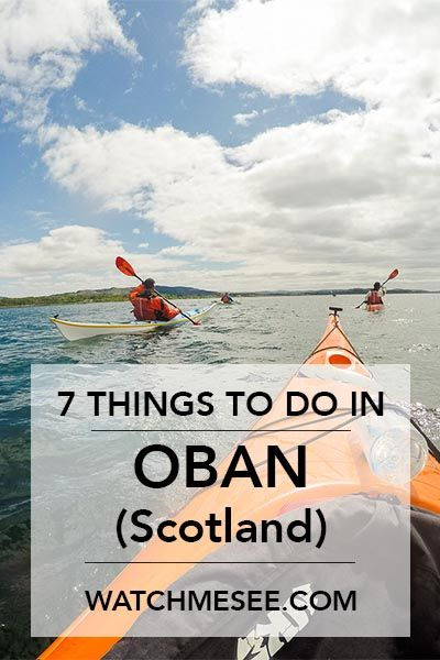 Oban on the Scottish West Coast is one of my favourite places in Scotland! Click here to read quick guide to a weekend getaway in Oban, or save this pin for later!