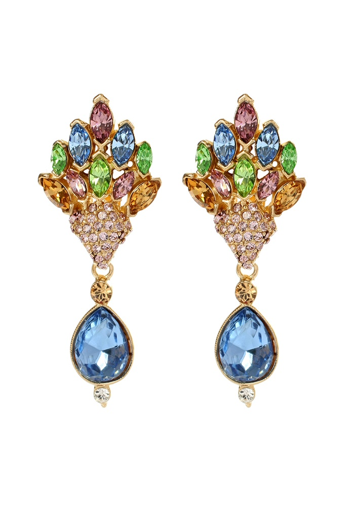 Ben-Amun Earrings Fall 2012