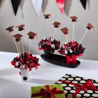Table Sets Centerpiece Ideas For Graduation Party