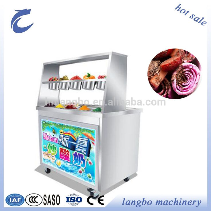 China Supplier Fried Ice Cream Filling Machine for Sale /High Efficiency Fried Ice Cream Machine/Fried Ice Cream Roll Machine
