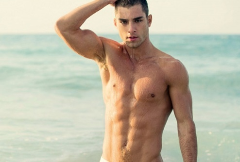 hot beach guys dreaming-of-a-pink-summer